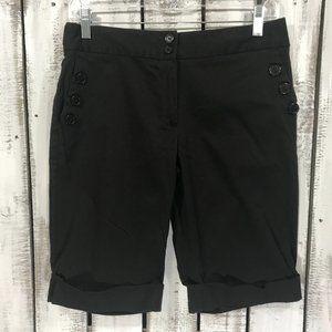 Vintage Christy Girl Bermuda Shorts cuffed